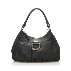 Gucci Abbey Leather Shoulder Bag