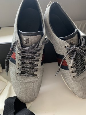 Gucci Ace Silber Sneakers 40