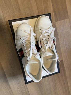 Gucci Ace Sneaker, 36, weiß
