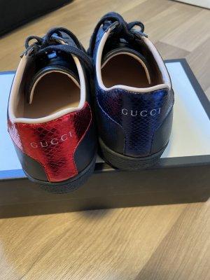 Gucci Ace Sneaker, 37 1/2, schwarz