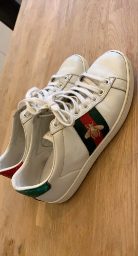 Gucci Lace-Up Sneaker white