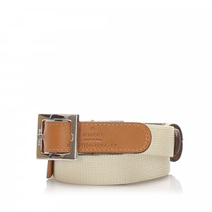 Gucci Adjustable Canvas Strap