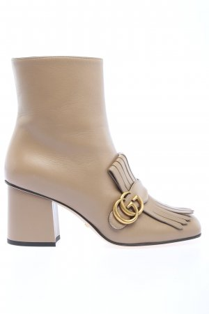 "Gucci Ankle Boots ""Double G Ankle Boot"" creme"
