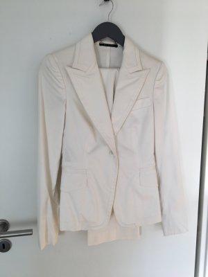 Gucci Anzug weiss, 2x getragen