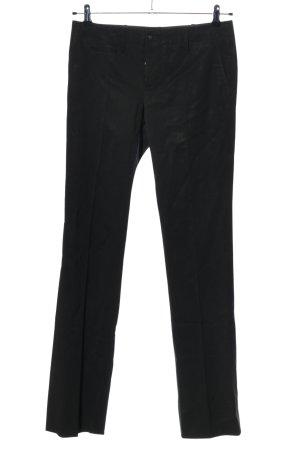 Gucci Pantalon de costume noir style d'affaires