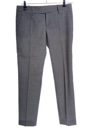 Gucci Anzughose schwarz-wollweiß Allover-Druck Casual-Look