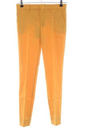 Gucci Pantalone da abito arancione chiaro stile professionale