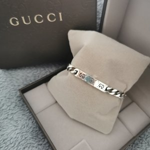 Gucci Armband GG Ghost aus Silber mit Verpackung