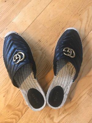 Gucci Espadrille Sandals black