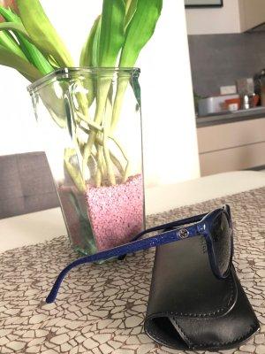 Gucci Okulary ciemnoniebieski