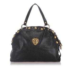 Gucci Babouska Crest Dome Shoulder Bag