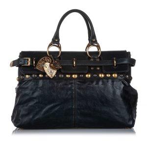 Gucci Babouska Leather Handbag