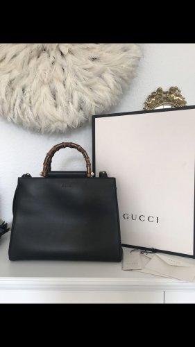 GUCCI bag Nymphaea schwarz mit rechnung & box