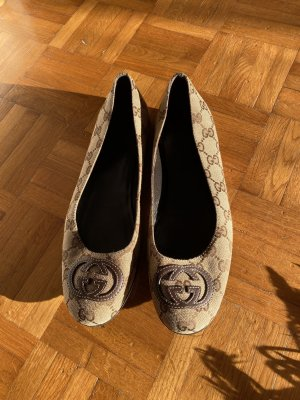Gucci Ballerines Mary Jane chameau