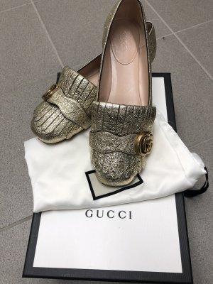 Gucci Mocassins doré