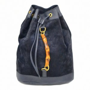 Gucci Backpack blue suede