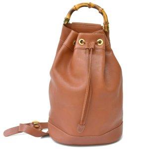 Gucci Shoulder Bag brown leather
