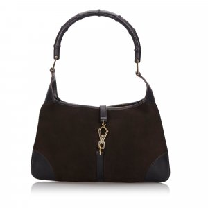 Gucci Bamboo Canvas Jackie