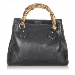 Gucci Bamboo Diana Leather Satchel