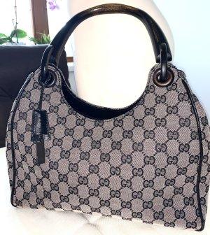 Gucci Bamboo GG Canvas Handtasche/wie neu