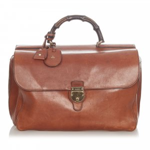 Gucci Business Bag light brown leather