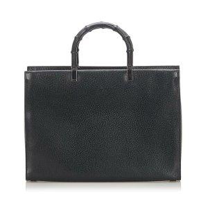 Gucci Bamboo Leather Handbag