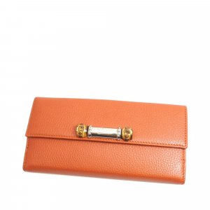 Gucci Bamboo Leather Long Wallet