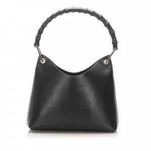 Gucci Bamboo Leather Shoulder Bag