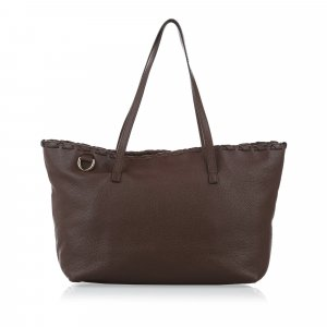 Gucci Bamboo Leather Tote