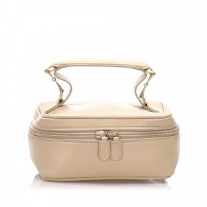 Gucci Make-up Kit beige leather