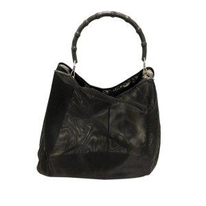 Gucci Torebka typu tote czarny Tkanina z mieszanych włókien