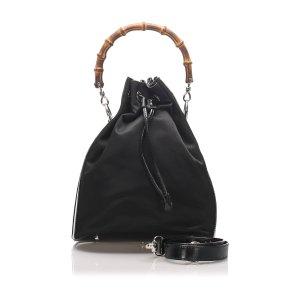 Gucci Torba na ramię czarny Nylon