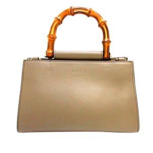Gucci Bamboo Nymphaea Handbag