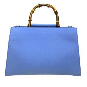 Gucci Sacoche bleu clair cuir