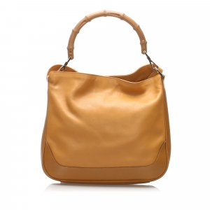 Gucci Satchel camel leather