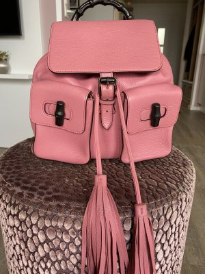 Gucci Sac à dos mini rose
