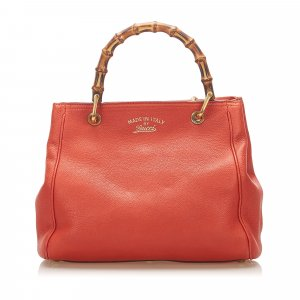Gucci Sacoche orange cuir