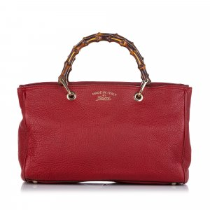 Gucci Satchel red leather