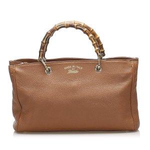 Gucci Sacoche brun cuir