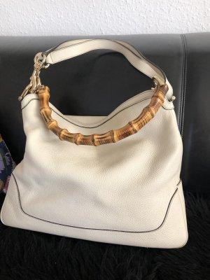 Gucci Pouch Bag cream leather