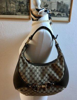Gucci - Bambus Horsebit Amalfi - Schultertasche - neuwertig!!!