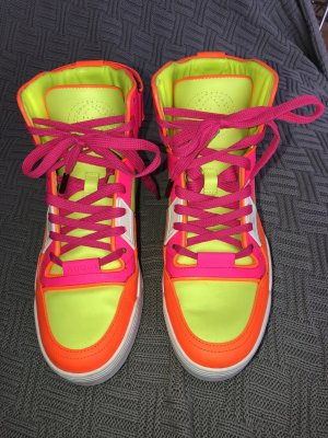 Gucci Basketball high top Sneakers neon