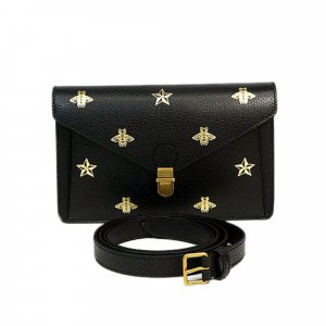 Gucci Bumbag black leather