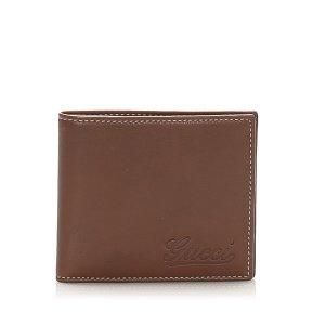 Gucci Bi-fold Leather Small Wallet