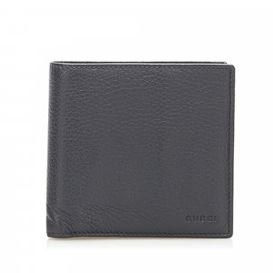 Gucci Bi-fold Leather Small Wallet