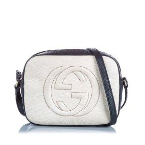 Gucci Crossbody bag beige leather