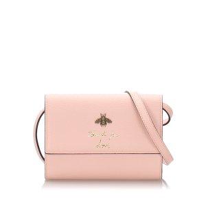 Gucci Crossbody bag light pink leather