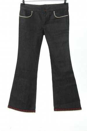 Gucci Boot Cut Jeans hellgrau Casual-Look