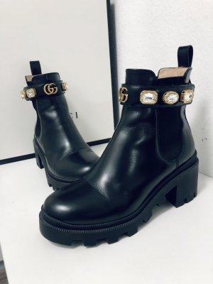 Gucci Slip-on laarzen zwart