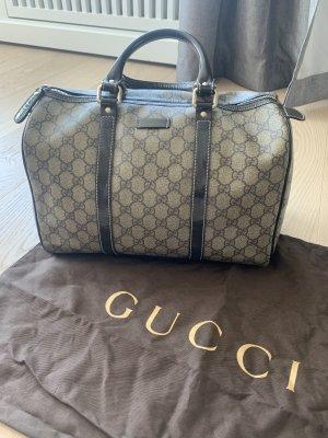 Gucci Handtas grijs-bruin-zwart bruin